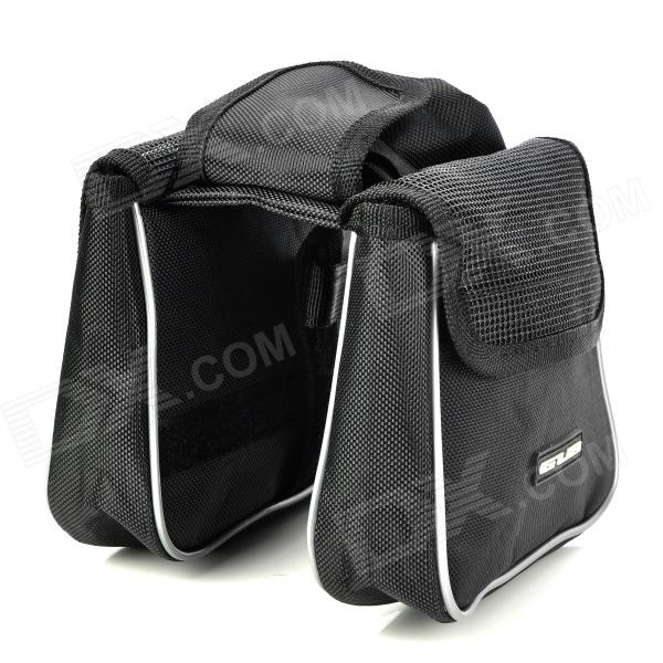 GUB G907 Multifunctional Rain-Proof EVA Cycling Bicycle Front Saddle Storage Bag - Black