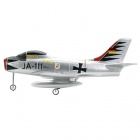 Art-Tech F-86 4-CH 2.4GHz Radio Control Sabre R/C Model Ducted Jet w/ Transmitter - Silver