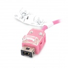 Wired Remote Controller for Nintendo Wii U - Pink (Left Hand)