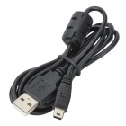 Mini USB Male to USB Male Charging Cable for Sony PS3 Controller - Black (80cm)