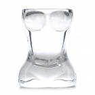 Creative Bra Wine / Water Glass Cup - Transparent White (25mL)