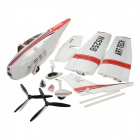 Art-Tech Cessna 182 6-CH 2.4GHz Radio Control R/C Model Airplane w/ Transmitter - Red + White