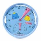 MINGLE TH101A Baby Room Table Style Thermometer Hygrometer - Blue