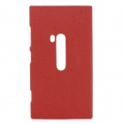Frosted Protective Plastic Back Case for Nokia Lumia 920 - Red