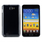 Protective Plastic Case + Screen Protector Guard Film for Samsung i9220 - Transparent