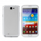Protective Plastic Case + Screen Protector Guard Film for Samsung N7100 - Transparent