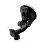 LSON WWA65-D Car Windshield Swivel 180 Degree Rotating Mount Holder for GPS - Black