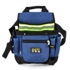 FASITE PT-N015-F Waterproof Oxford Cloth Reflective Strip Electric Toolkit Shoulder Bag - Blue
