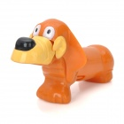 40120 Cut Plastic Sparky Dog Toy - Brown
