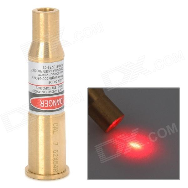 Cartridge Red Laser Bore Sighter - Golden (3 x AG4)