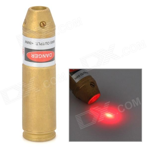Cartridge Red Laser Bore Sighter - Golden (3 x AG3)
