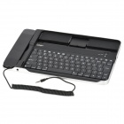 ipega PG-IP090A Rechargeable Wireless Bluetooth v2.0 Skype 84-Key Keyboard for Ipad - Black + Silver