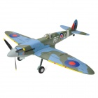 Art-Tech Spitfire V2 4-CH 2.4GHz Radio Control R/C Model Airplane w/ Transmitter - Blue + Green