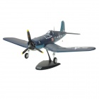 Art-Tech F4U Corsair 4-CH 2.4GHz Radio Control R/C Model Airplane w/ Transmitter - Blue