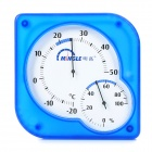 MINGLE TH101A Desk-Top Household Thermometer Hygrometer - Blue