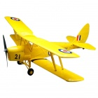 Art-Tech Tiger-Moth 4-CH 2.4GHz Radio Control Dual Fixed Wing R/C Model Airplane - Yellow