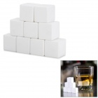 Potent CS01 Ceramic Whisky Stones - White (9 PCS)