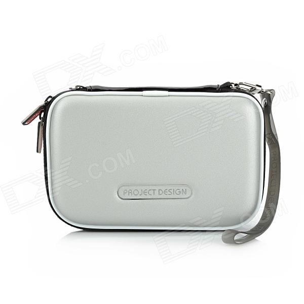 Protective PU Leather Pouch for Nintendo 3DSLL / 3DSXL - Silver