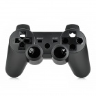 Protective Plastic Case w/ Joystick Caps / Conductive Pad Set for PS3 Wireless Controller - Black