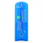 Mingle G963 Plastic Household Thermometer w/ Suction Cup / Stand - Blue