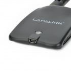 LAFALINK LF-D300 120mW Dual Antenna 6dBi IEEE 802.11b/g/n Wireless Network Adapter - Black