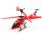 USB Rechargeable 3.5-CH IR Remote Control Mini R/C Helicopter Set - Red
