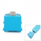 GOiGAME Motion Plus Sensor for Wii Remote Controller - Blue