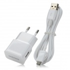 Genuine Samsung ETA-U90EWE AC Power Charger  w/ USB Cable for  Galaxy Note 2 N7100 - White