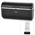 "G013 Rechargeable External ""2800mAh"" Battery Pack w/ 30-Pin Plug for iPhone 4 / 4S - Black + Silver"