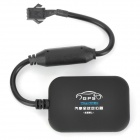 Mini GSM/GPRS/GPS Anti-Thief Vehicle Tracker - Black