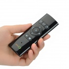 Lefant FS-01 Rechargeable 2.4GHz Wireless Air Mouse Red Laser Pen / Presenter w/ Gyroscope - Black