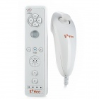 17Vee Body Feeling Game Nunchuk Remote Controller Suit - White