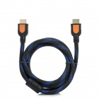 ChuangNian HDMI v1.3 Male to Male Connection Cable for PS3 / Xbox 360 - Black + Blue (150cm)