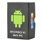 UG007II Dual-Core Android 4.1.1 Google TV Player w/ 1GB RAM / 8GB ROM / Bluetooth (EU Plug)