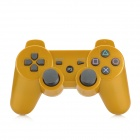 Wireless Bluetooth v3.0 Vibration Gamepad Controller for PS3 / PS3 Slim / PS3 CECH4000 - Golden