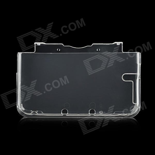 Separate Type Protective TPU Back Case for Nintendo 3DS LL / 3DS XL Game Console - Transparent