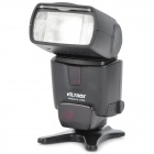 "VILTROX JY620 1.8"" LCD Flash Speedlite Speedlight for DSLR Nikon / Canon + More - Black (4 x AA)"