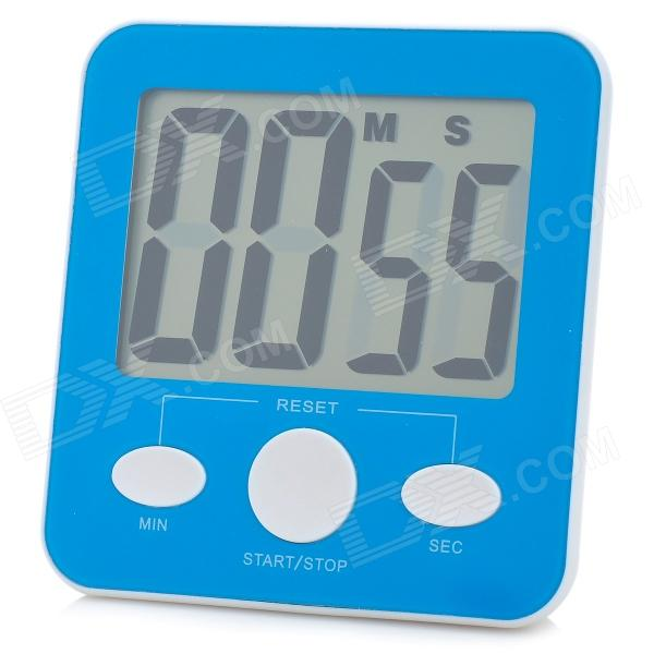 DD1108 Large Screen Electric Kitchen Reminder Timer - Blue