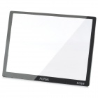 FOTGA Optical Glass LCD Screen Protector w/ Cleaning cloth for EOS M - Black + Transparent