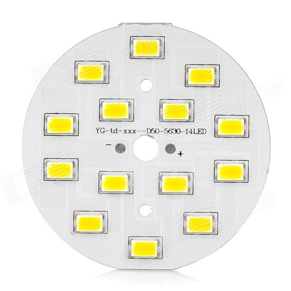 7W 14-SMD 5630 LED 650lm 3200K Warm White Light Module (22~25V)