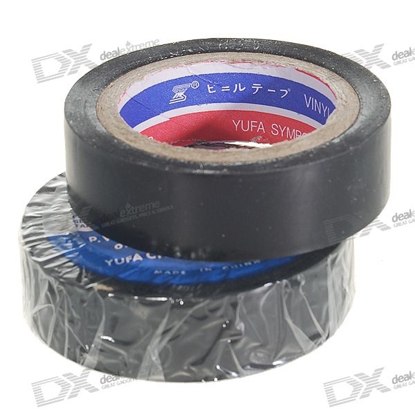 Electrical PVC Insulation Adhesive Tapes (2-Pack)