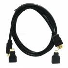 HDMI Male to Male Cable + Mini HDMI Adapter + Micro HDMI Adapter Set for PS3 / XBOX360 / LG - Black