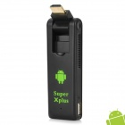 Super-Xplus H26 Dual-Core Android 4.1.1 Google TV Player w / 1GB RAM / 8GB ROM / TF - Schwarz + Grün