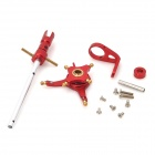 5-In-1 CNC Alloy Swashplate Upgrade Parts Set for WLToys V911 R/C Helicopter - Red + Silver