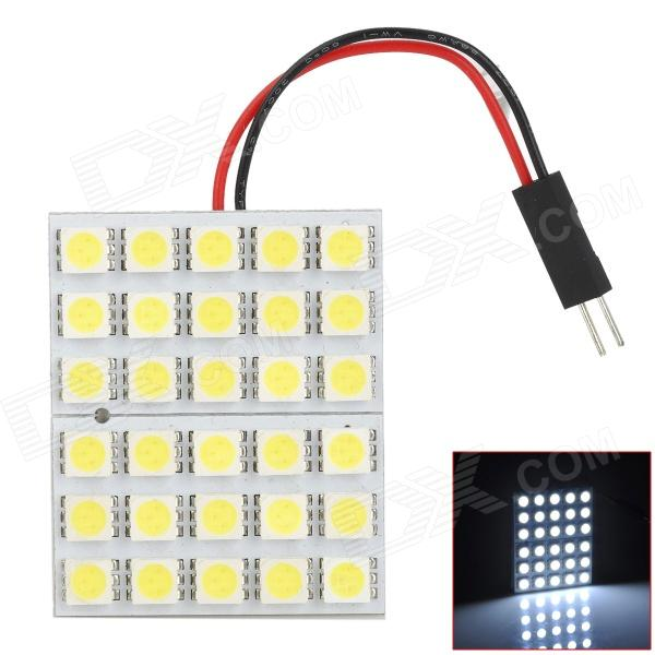 pointpurple-5050-30-t10-ba9s-festoon-54w-445lm-30-smd-5050-led-white-light-car-reading-lamp
