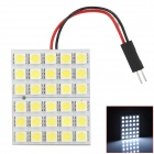 PointPurple 5050-30 T10 / BA9S / Festoon 5.4W 445lm 30-SMD 5050 LED White Light Car Reading Lamp