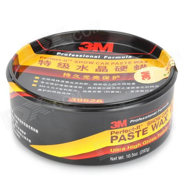 Car Coating Wax Hard Paste - Black + Yellow + Red