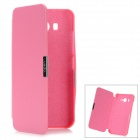 Folio-Open Protective PU Leather Case for Xiaomi M2 - Deep Pink