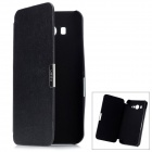 Folio-Open Protective PU Leather Case for Xiaomi M2 - Black
