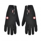 WINDSTOPPER Outdoor Anti-Skid Windproof Warm Gloves - Black (S / Pair)